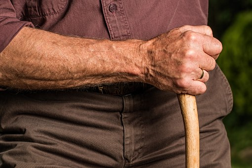 walking stick for elderly people